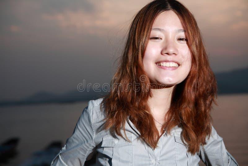 Het meisje van Asain royalty-vrije stock foto's