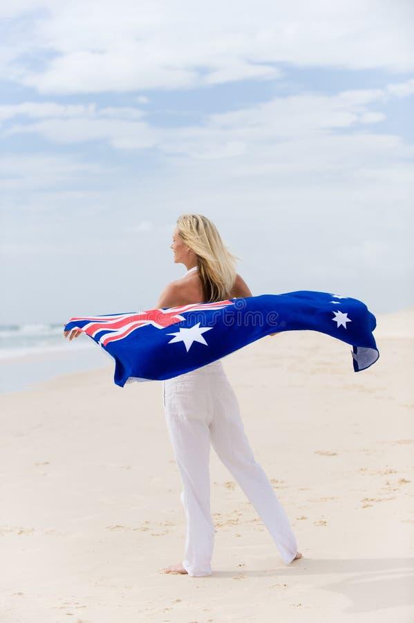 Het Meisje van Aussie stock afbeelding