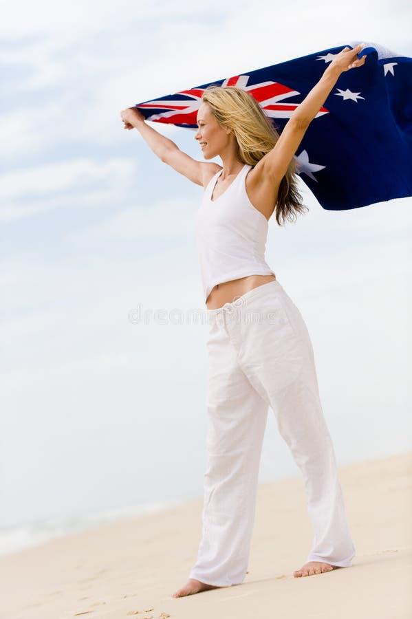 Het Meisje van Aussie royalty-vrije stock foto's