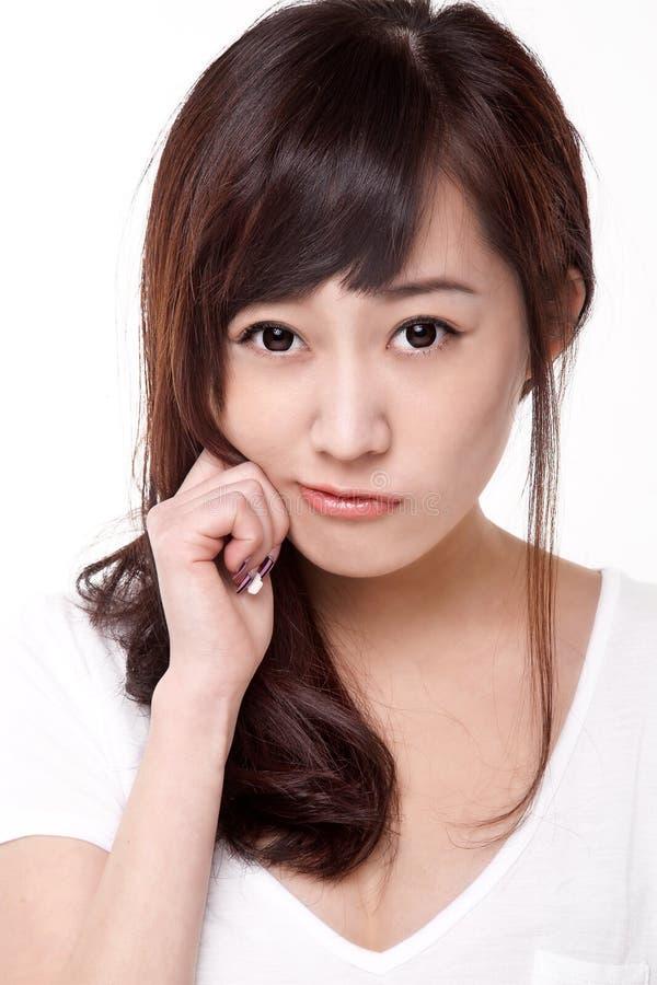 Het meisje van Azië stock afbeeldingen