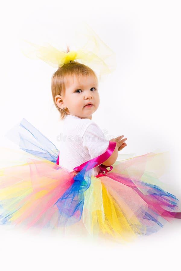 Het Meisje van de Baby van de tutu royalty-vrije stock foto's