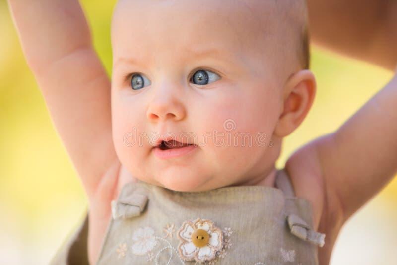 Het Meisje van de Baby van de zomer stock foto