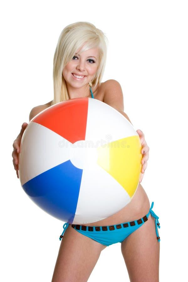 Het Meisje van de bikini royalty-vrije stock afbeelding