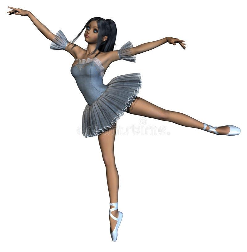 Het meisje van de danser vector illustratie