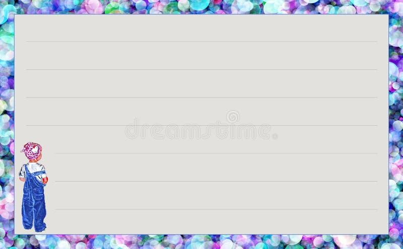 Het Meisje van de malplaatjereeks ` met blauw Jean `, variatie` Zuivere cirkels ` stock foto's