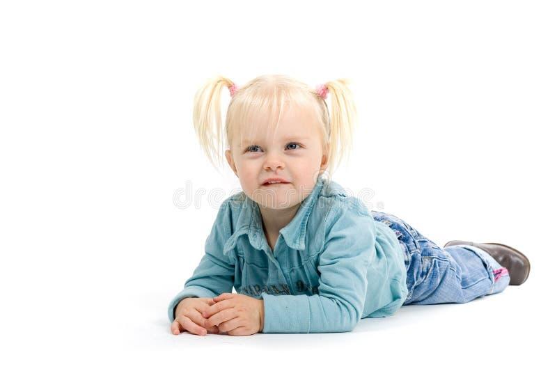 Het Meisje van de paardestaart royalty-vrije stock foto
