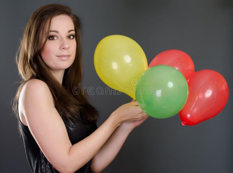 Het meisje van de partij royalty-vrije stock foto
