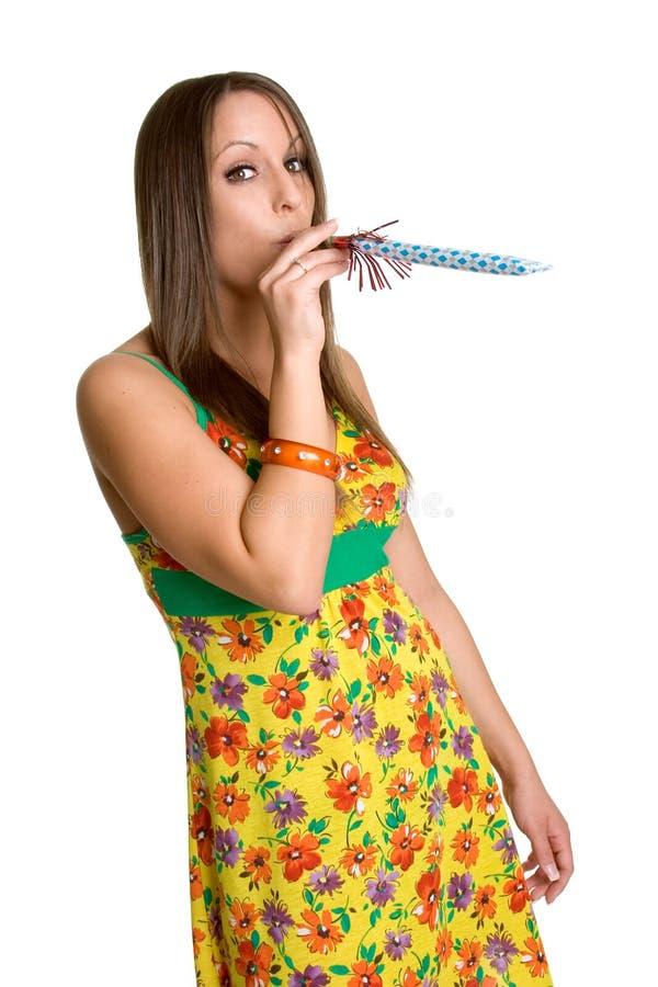 Het Meisje van de partij stock afbeelding