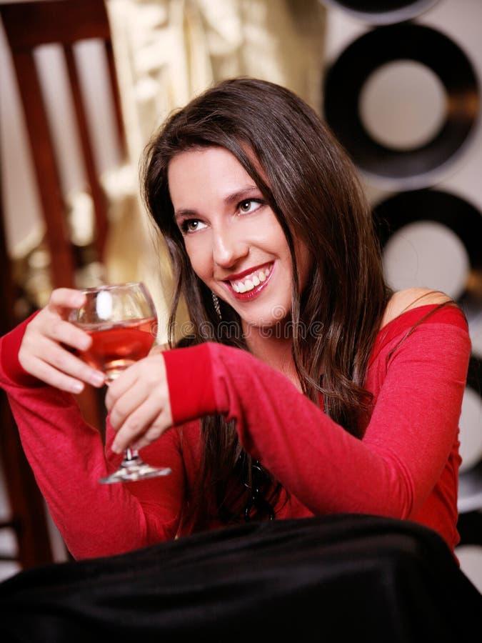 Het Meisje van de partij royalty-vrije stock afbeelding