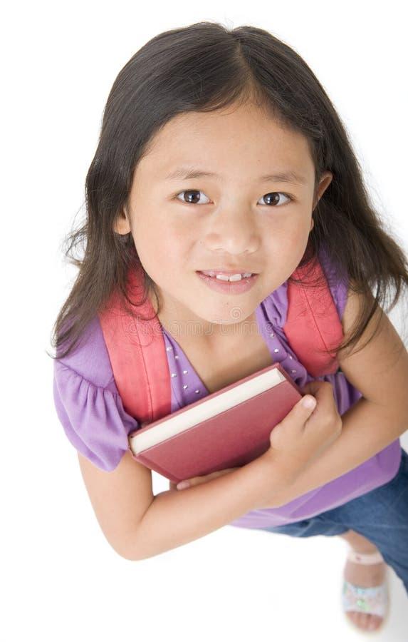 Het Meisje van de school royalty-vrije stock foto