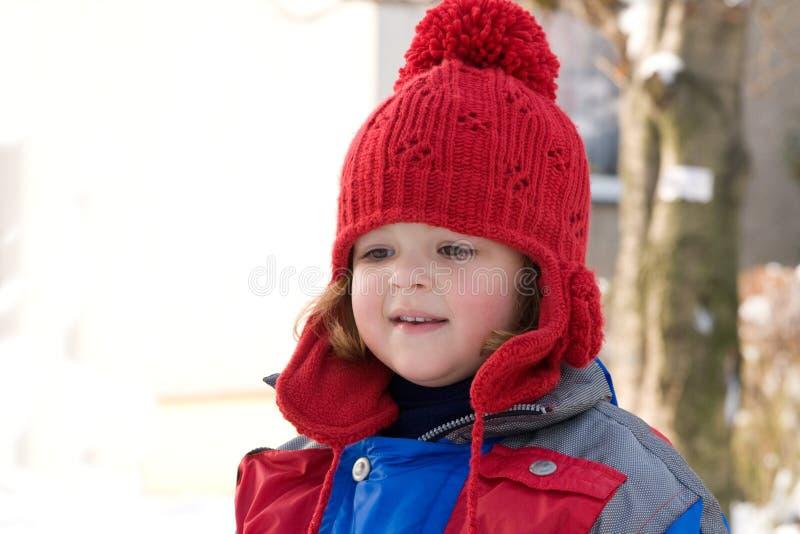 Het meisje van de sneeuw royalty-vrije stock fotografie