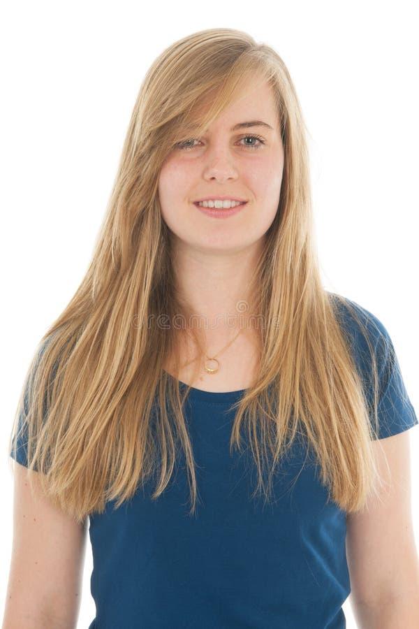 Het meisje van de tiener stock afbeelding afbeelding bestaande uit blond 46921883 - Het versieren van de tiener kamer ...