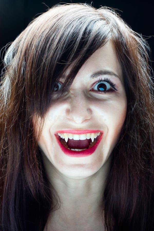 Het Meisje van de vampier royalty-vrije stock foto