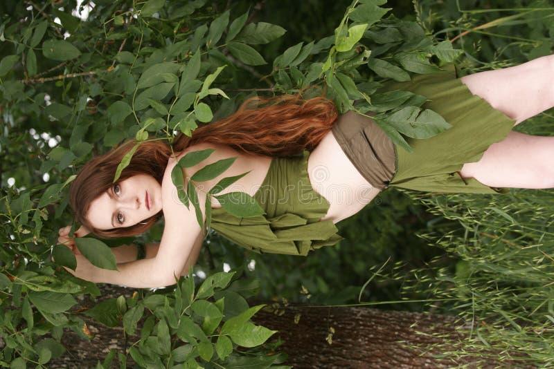 Het meisje van de wildernis royalty-vrije stock foto's