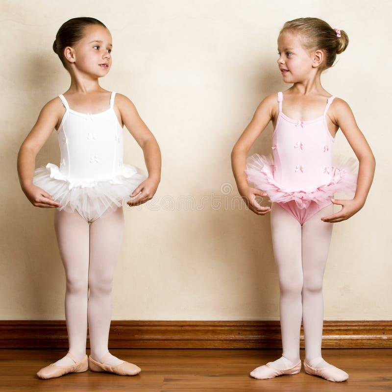 Het Meisje van het ballet stock afbeelding