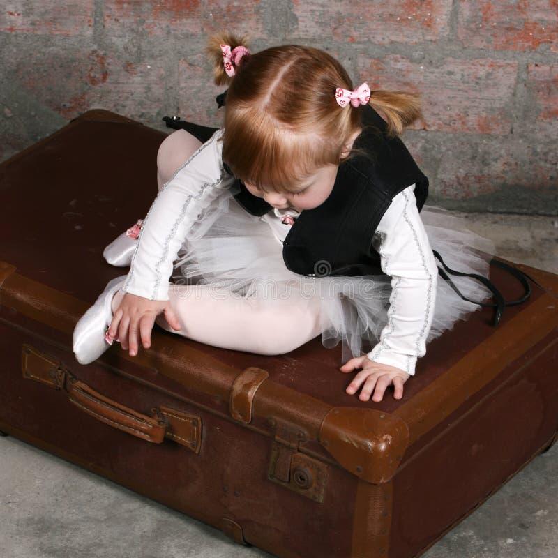Het Meisje van het ballet stock fotografie