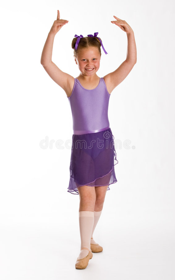 Het meisje van het ballet royalty-vrije stock afbeeldingen