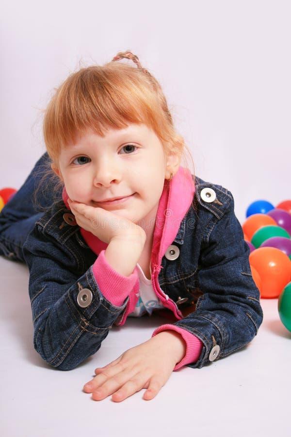 Het meisje van het kind royalty-vrije stock afbeeldingen