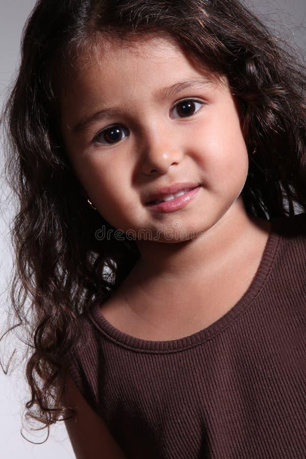 Het meisje van het kind stock foto