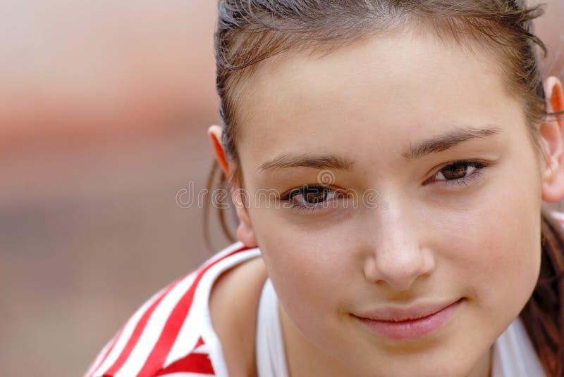 Het meisje van het portret royalty-vrije stock foto