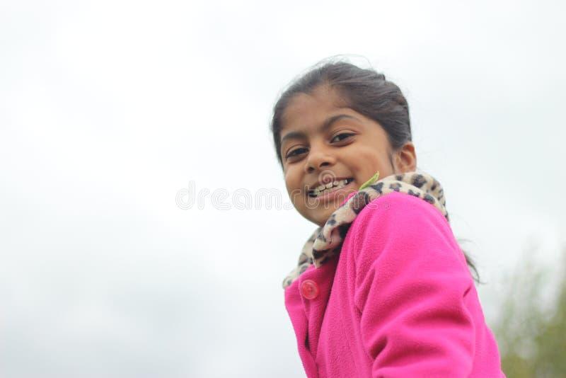 Het meisje van Preety royalty-vrije stock afbeelding