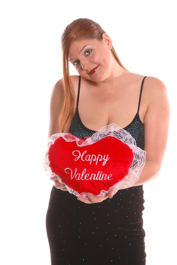 Download Het Meisje van Valintine stock afbeelding. Afbeelding bestaande uit manier - 296441