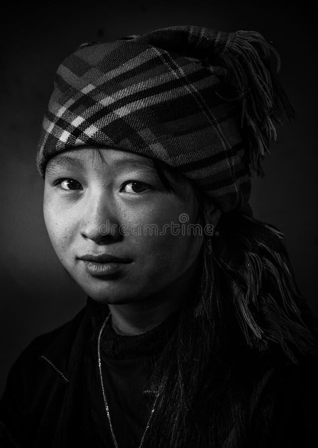 Het meisje van Vietnam stock foto's