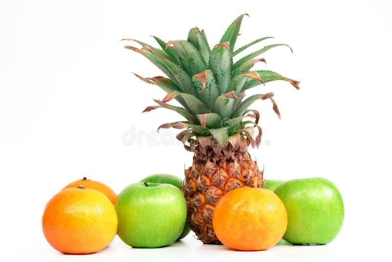 Het mengelingsfruit stock afbeelding