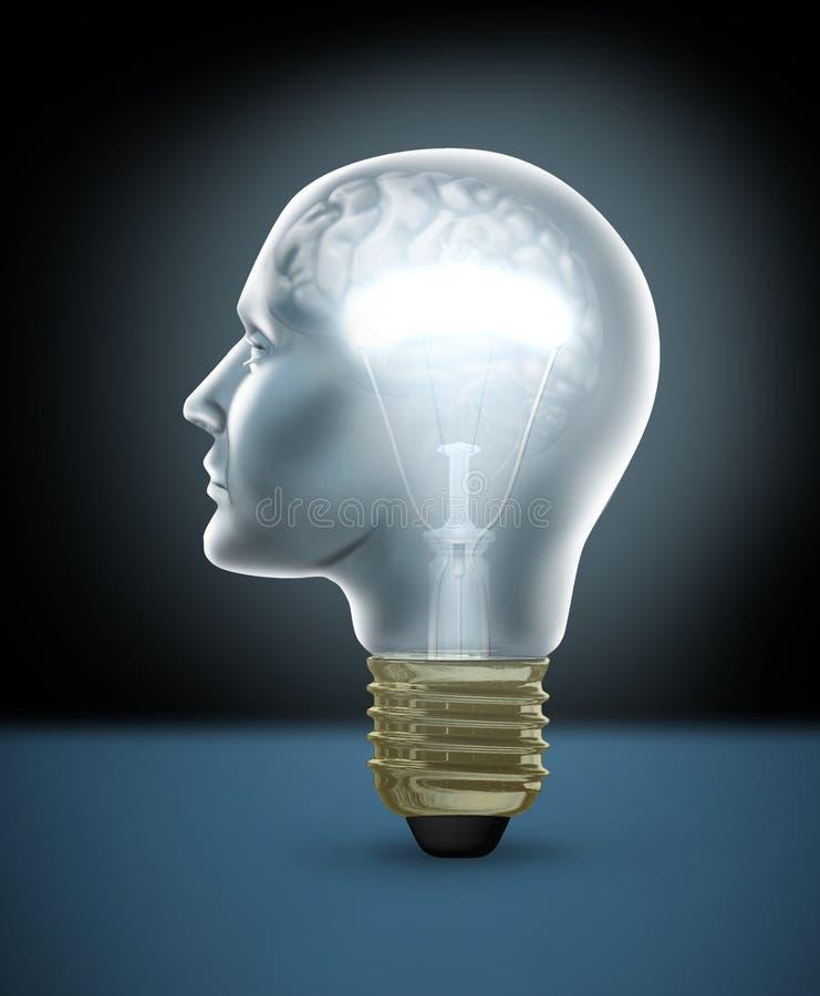 Het menselijke Concept van de Creativiteit vector illustratie