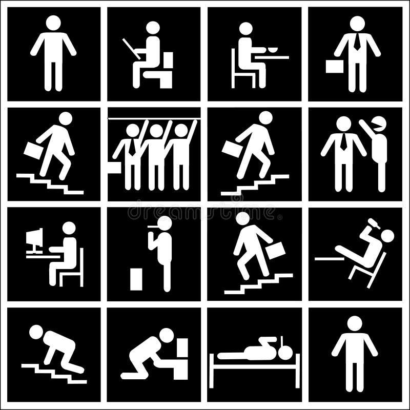 Het menselijke leven vector illustratie