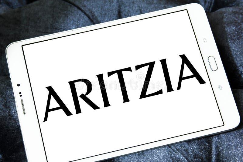 Het merkembleem van de Aritziamanier stock foto