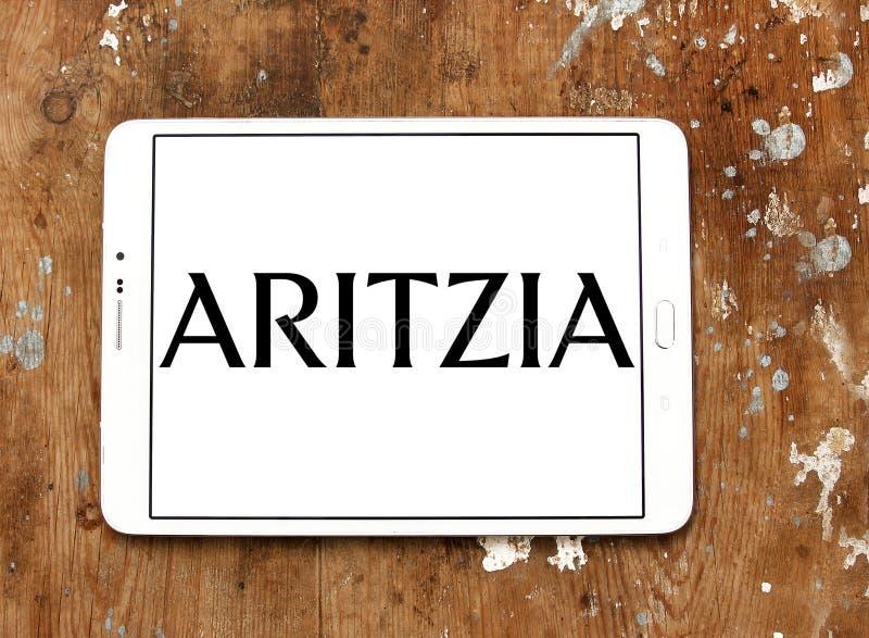 Het merkembleem van de Aritziamanier stock afbeelding