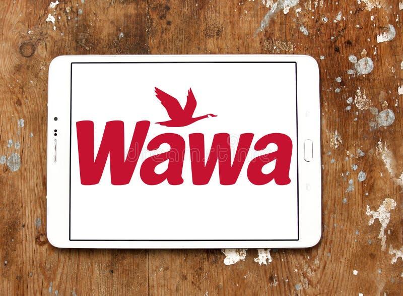 Het merkembleem van de Wawakoffie royalty-vrije stock fotografie