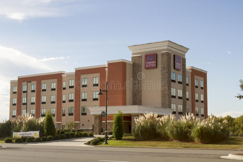 Het merkketen van comfortreeksen hotel royalty-vrije stock fotografie