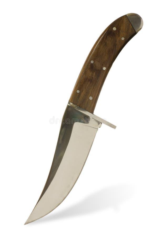 Het mes van de jacht royalty-vrije stock afbeeldingen