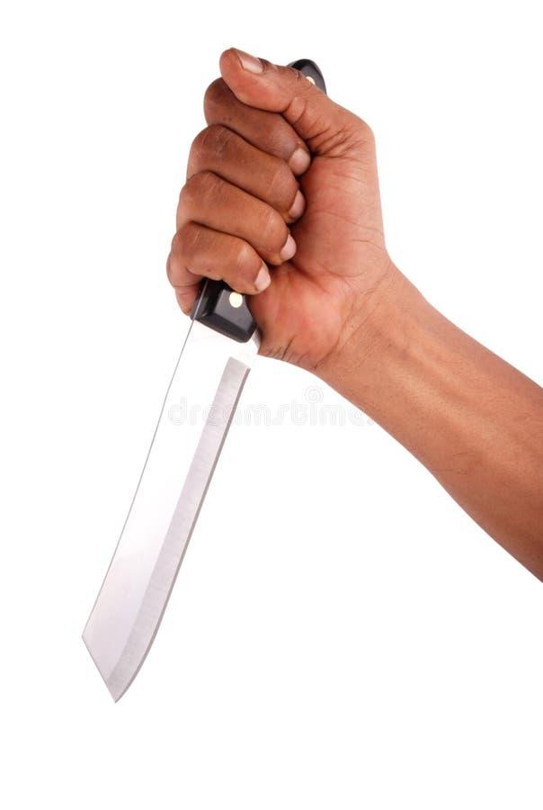 Het mes van de moordenaar royalty-vrije stock afbeelding