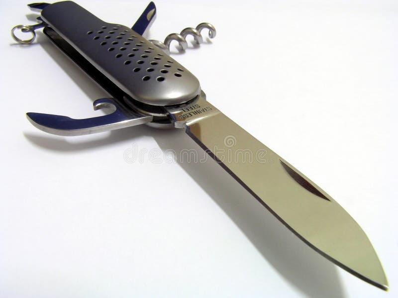 Het mes van de zak royalty-vrije stock afbeeldingen