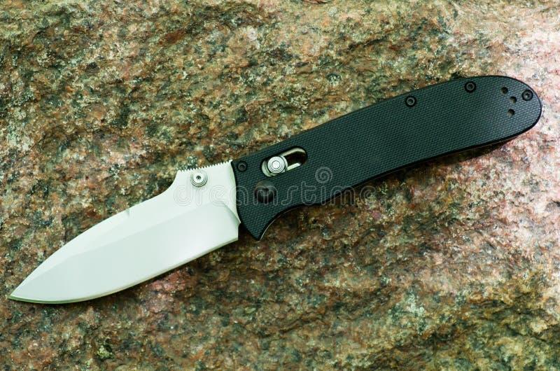 Het mes vouwt stock afbeelding