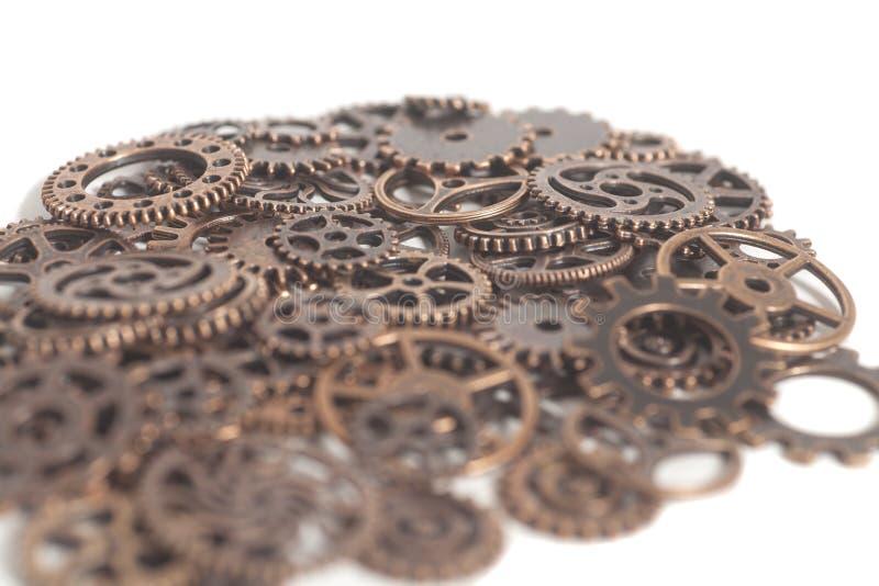 Het metaal past wielen aan royalty-vrije stock foto