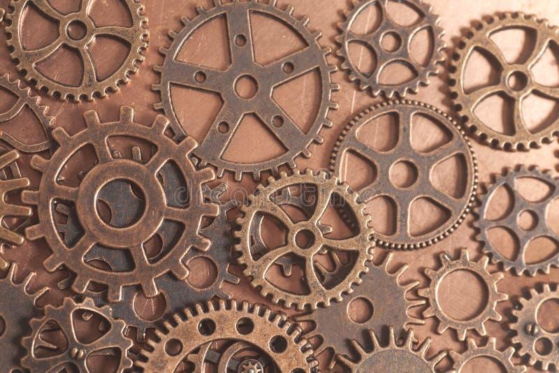 Het metaal past wielen aan royalty-vrije stock afbeeldingen