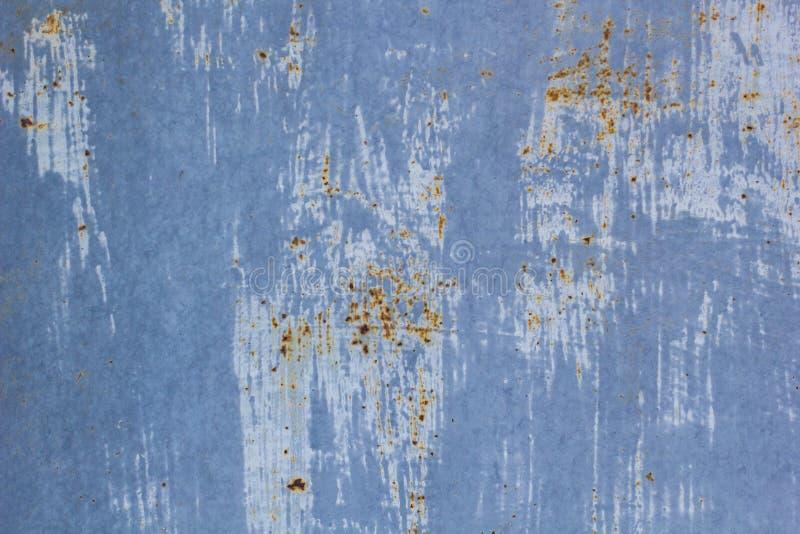 Het metaal van de achtergrond roest oud textuur staal grunge uitstekend vuil ijzer royalty-vrije stock foto