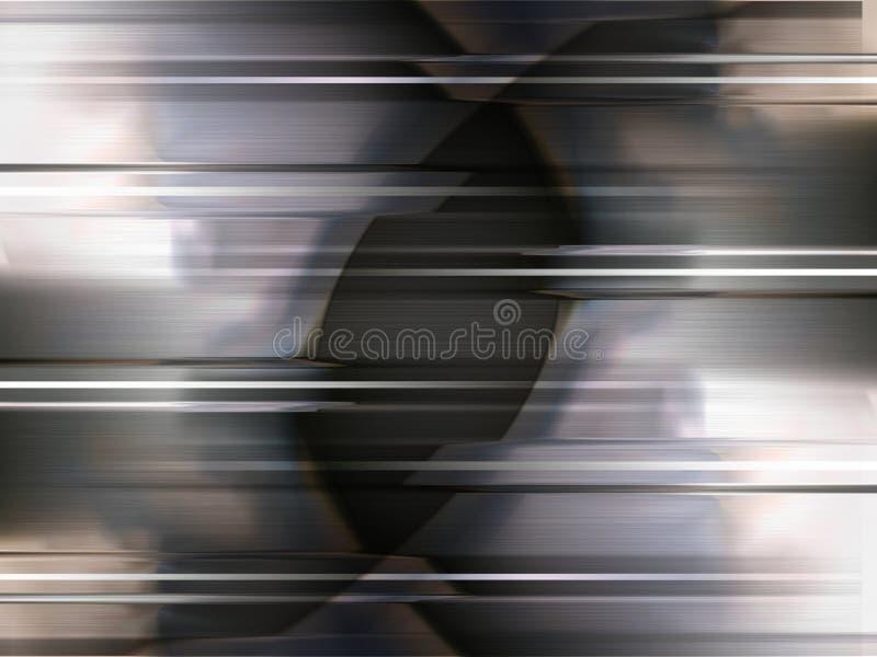Het metaal van het onduidelijke beeld vector illustratie