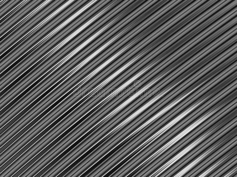 Het metaal Zilveren Metaal van de Textuur stock foto