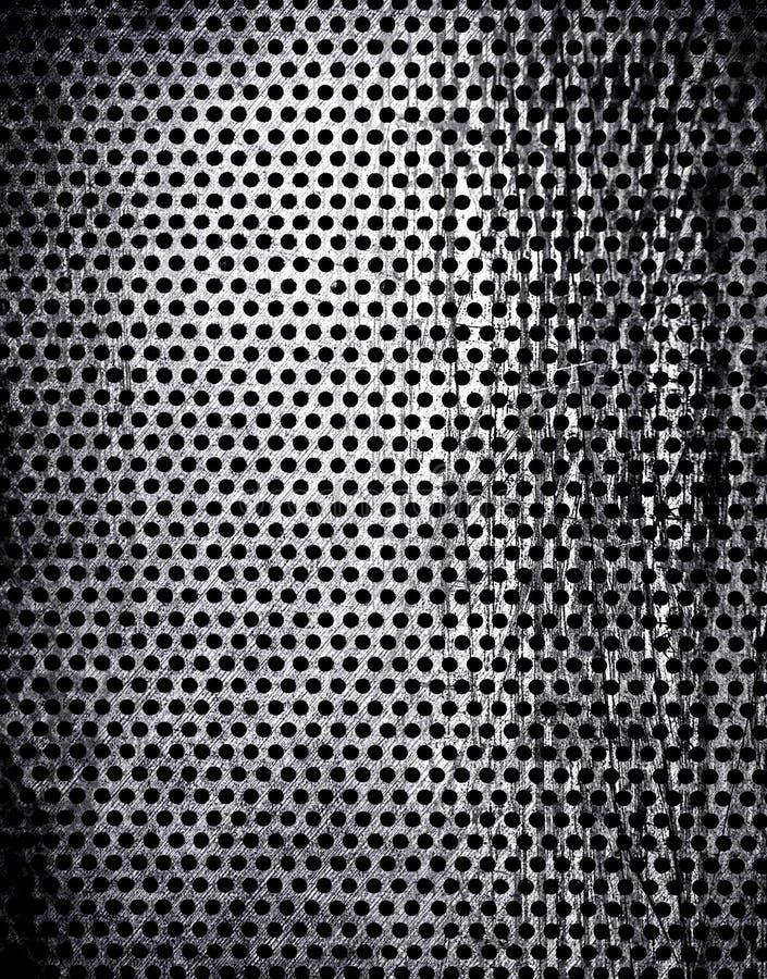Het metaalachtergrond van Grunge stock foto