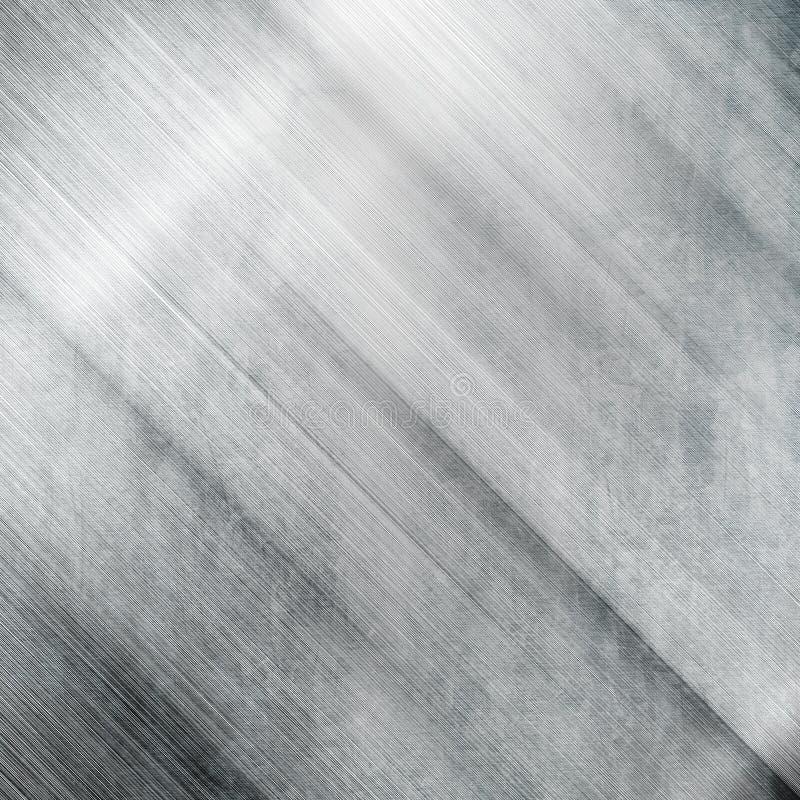 Het metaalachtergrond van Grunge stock fotografie
