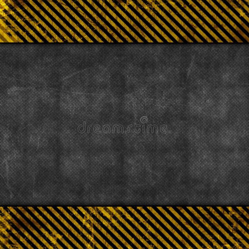 Download Het Metaalachtergrond Van Grunge Stock Illustratie - Afbeelding: 24083140