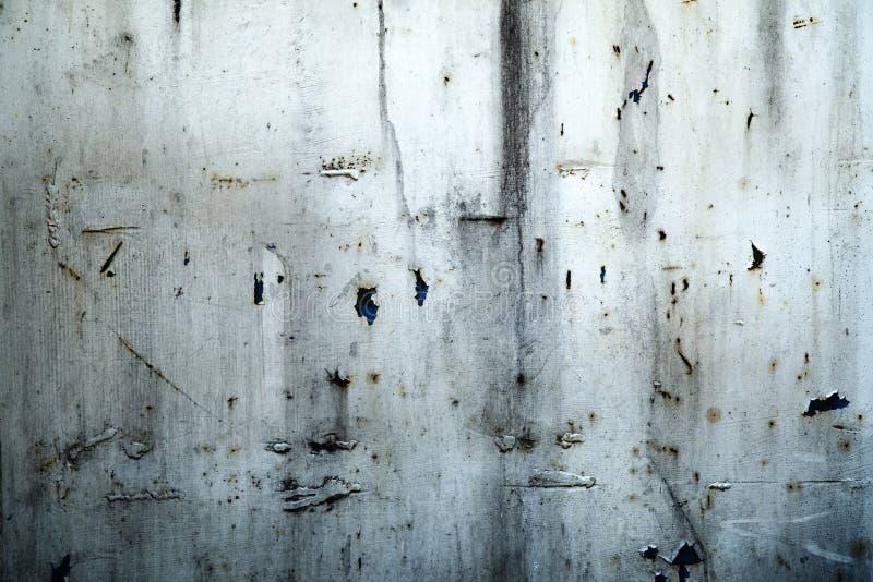 Het metaalachtergrond van Grunge stock foto's