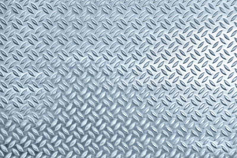 Het metaaltextuur van de ruit stock afbeelding