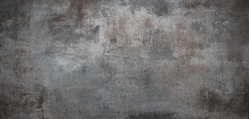 Het metaaltextuur van Grunge stock foto