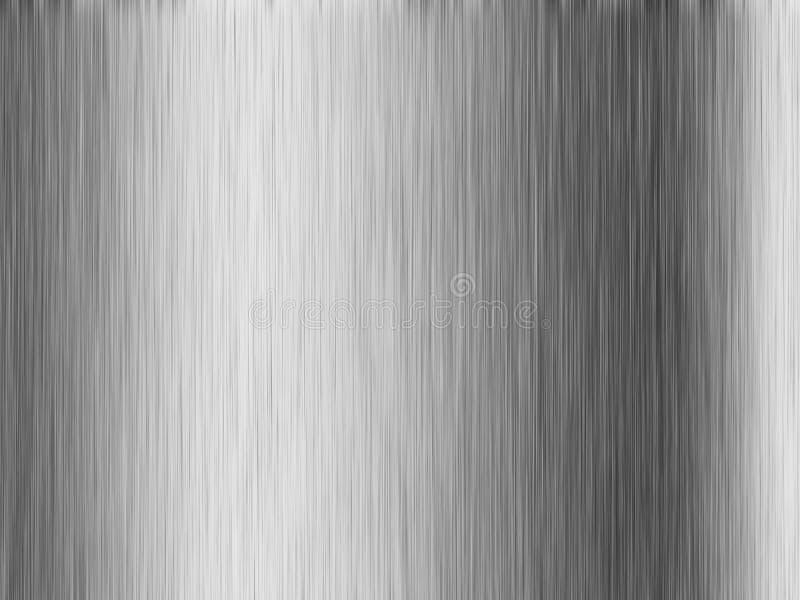 Het metaaltextuur van het roestvrij staal royalty-vrije illustratie